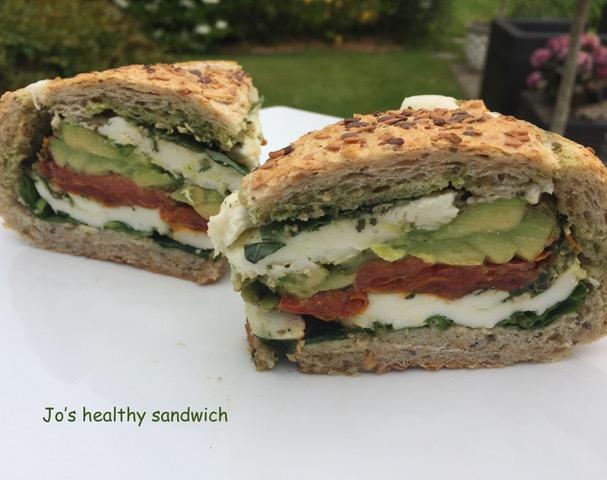 Jos healthy sandwich